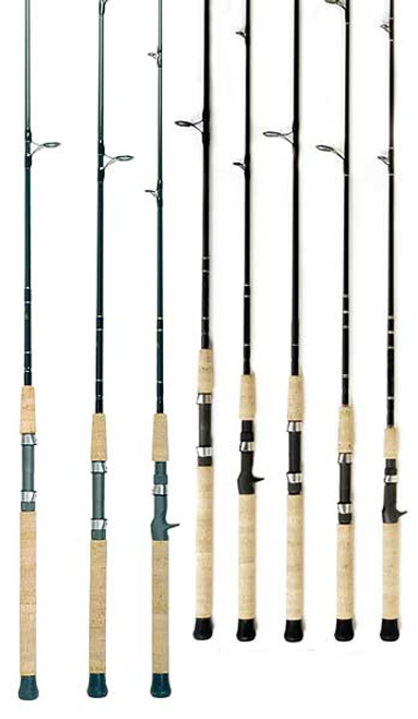 Crowder E-Series Lite Spinning Rod 8 ft