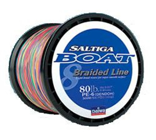 Daiwa Saltiga Braided Line 1800 Meters Test#:150