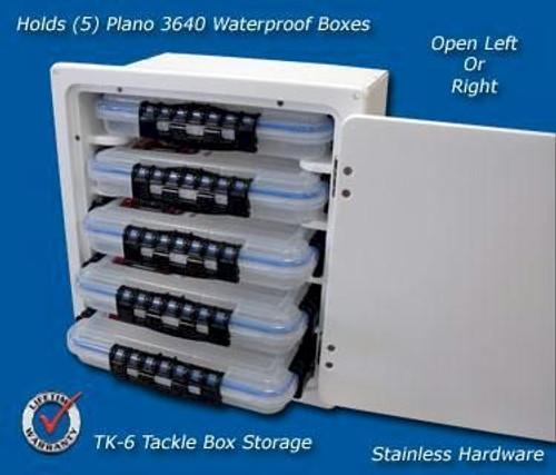 Deep Blue Marine 5 Tray Tackle Box Locking - 2-4 weeks lead time