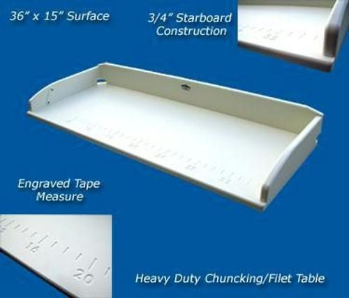 Deep Blue Marine Chunking Board