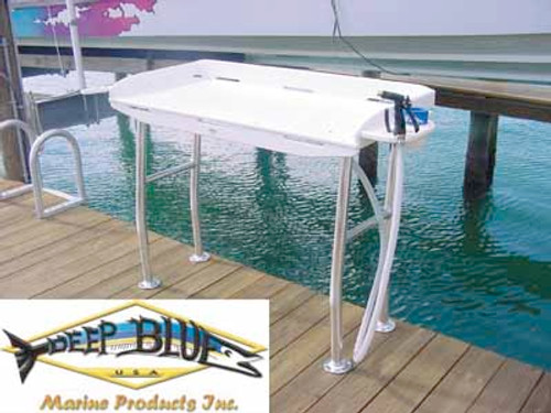 Deep Blue Marine Dockside Fillet Table 38 inch x 21 inch