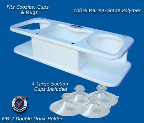 Deep Blue Marine Double Drink Holder MB2