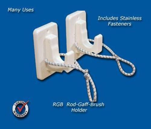 Deep Blue Marine Gaff and Net Holder - Pair