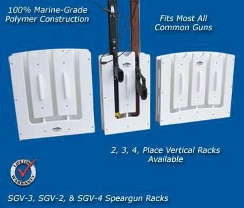 Deep Blue Marine Speargun Rack - 4 Guns