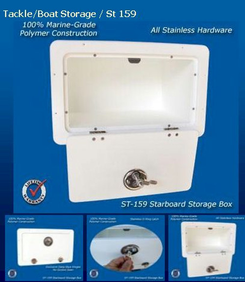 Deep Blue Marine Tackle Storage Box Locking - 2-4 weeks lead time