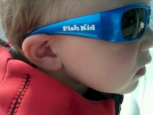 Fish Kid Sunglasses Sydney Zebra