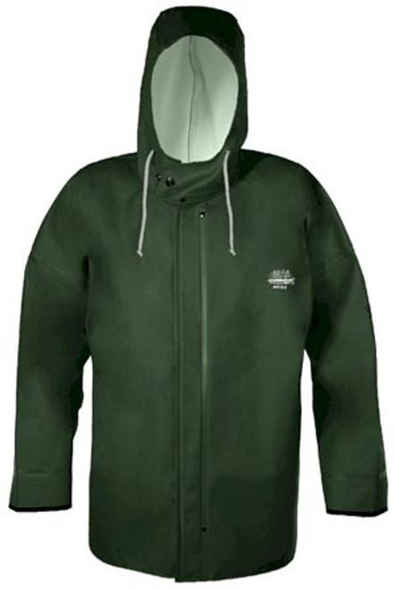 Grundens Brigg 44 Hooded Jacket Parker - Green - Large