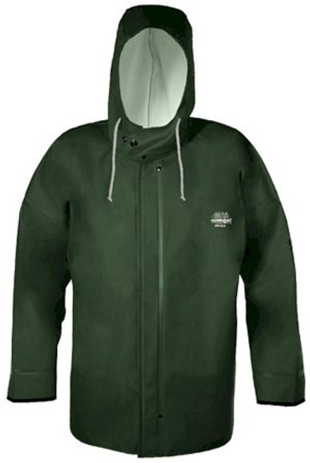 Grundens Brigg 44 Hooded Jacket Parker - Green - Small