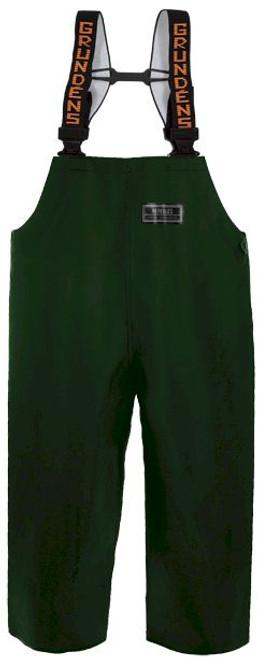 Grundens Herkules 16 bib Pant - Green - Tall Medium