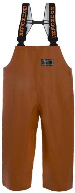 Grundens Herkules 16 bib Pant - Orange - Large