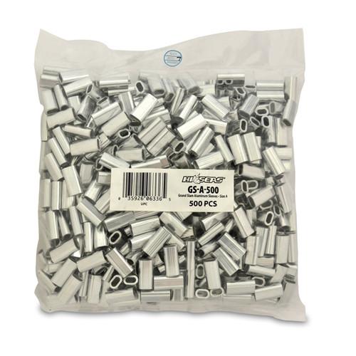 Hi Seas Aluminum Sleeve-A 500 Pack