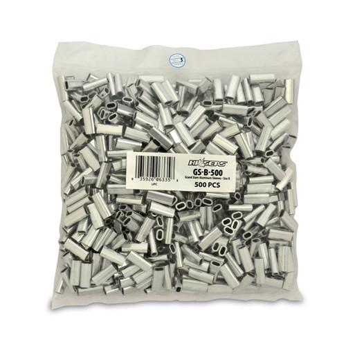 Hi Seas Aluminum Sleeve-B 500 Pack