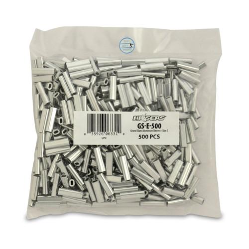 Hi Seas Aluminum Sleeve-E 500 Pack