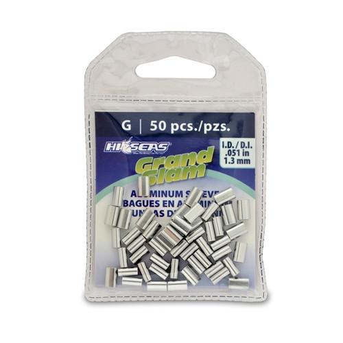 Hi Seas Aluminum Sleeve-G 50 Pack