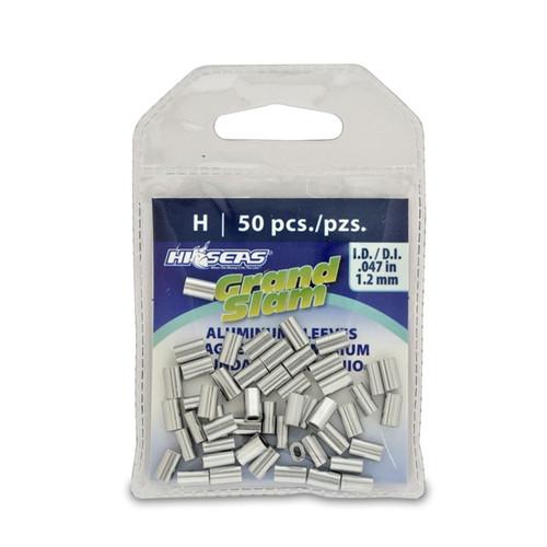 Hi Seas Aluminum Sleeve-H 50 Pack