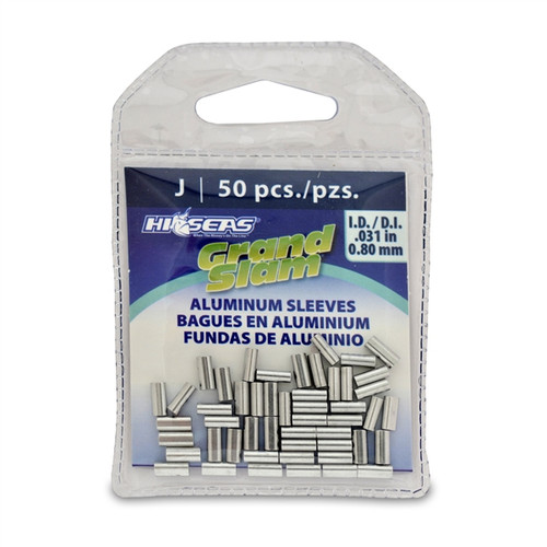 Hi Seas Aluminum Sleeve-J 50 Pack