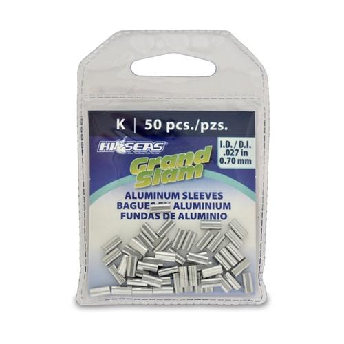 Hi Seas Aluminum Sleeve-K 50 Pack