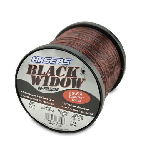 Hi Seas Black Widow 1lb Spool Test: 8 Kg / 16#