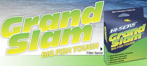 Hi Seas Grand Slam Five Pound Spool Clear Test: 400