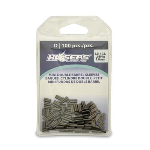 Hi Seas Mini Double Sleeve 1.0mm 100 Pack