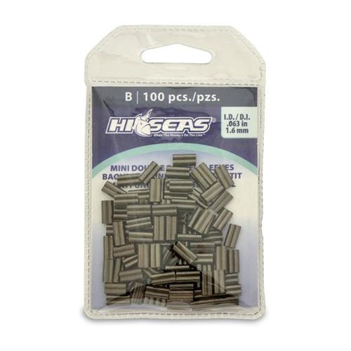 Hi Seas Mini Double Sleeve 1.6mm 100 Pack