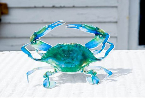 Hitch Cover - Blue Crab