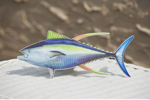 Hitch Cover - Yellowfin Tuna
