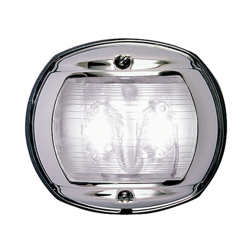 Perko LED Stern Light - White - 12V - Chrome Plated Housing