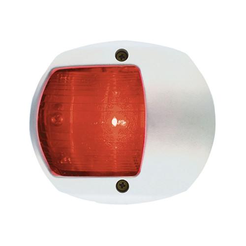 Perko LED Side Light - Red - 12V - White Plastic Housing