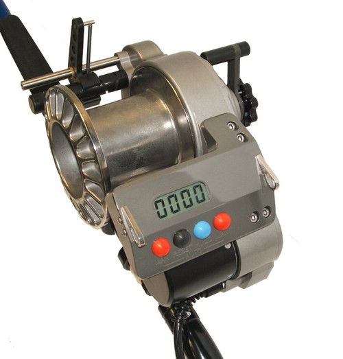 Lindgren Pitman S-1200 Electric Reel with Titanium Spool (for 80# Rod Butt)