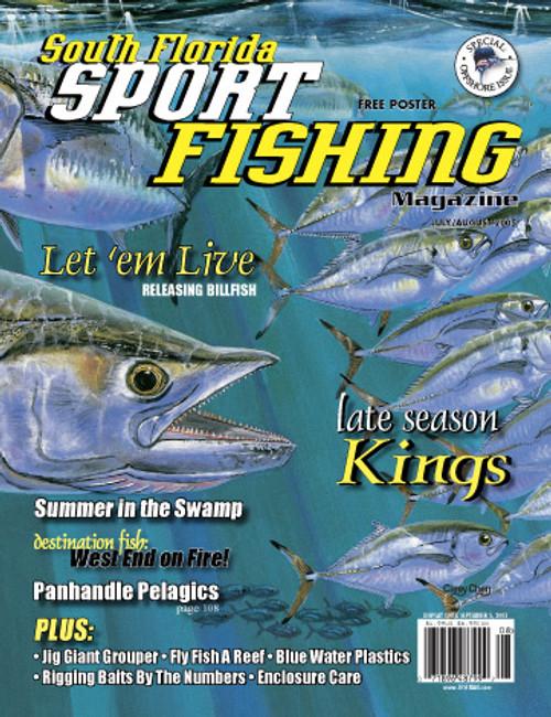 Magazine One Year Subscription - Florida Sport Fishing Magazine