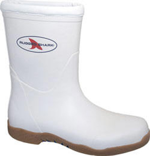Rugged Shark Great White Fishing Boot Size 8