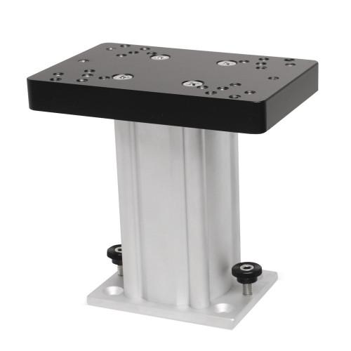 "Cannon Aluminum Fixed Base Downrigger Pedestal - 6"""