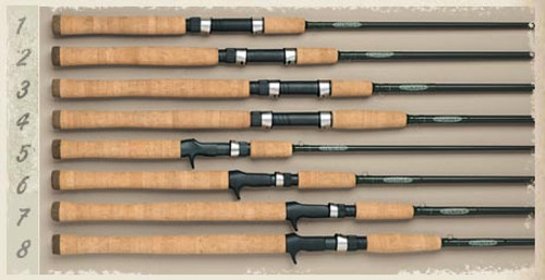 St Croix Tidemaster Three Piece Travel Spinning Rod 7ft6 inch MH