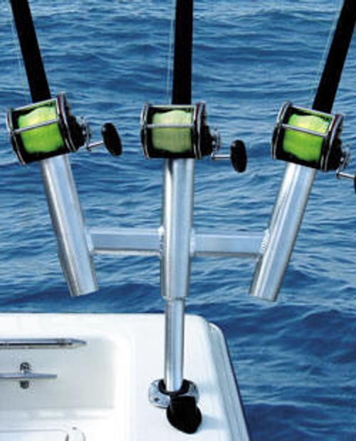 Taco Triple Kite Rod Cluster