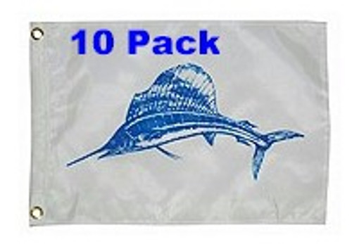 Taylor Made Sailfish Flag Ten Pack