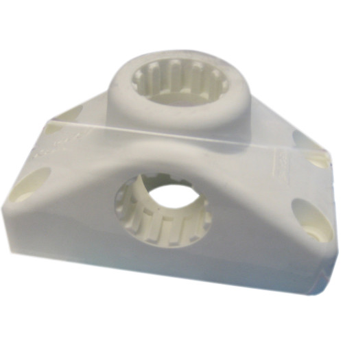 Scotty Combination Side \/ Deck Mount - White