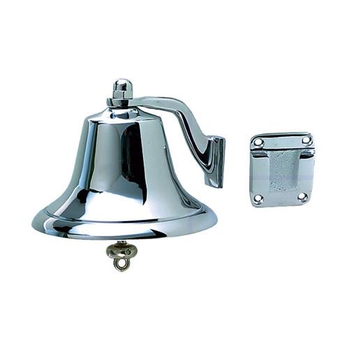 """Perko Chrome Plated Bronze Fog Bell - 6"""""""