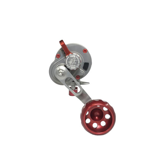 Seigler Reel SG  Smoke w/ Red Accents LH