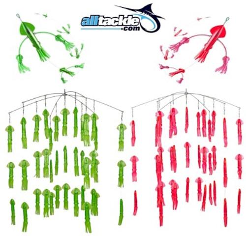 Alltackle Dredge & Teaser Kit - Pink & Green