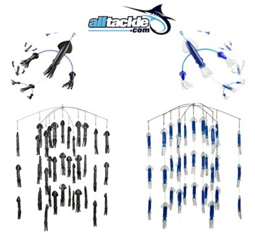 Alltackle Dredge & Teaser Kit - Black & Blue
