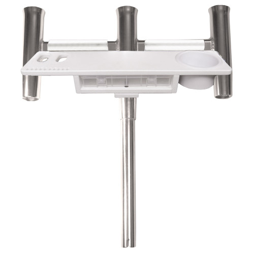 TACO Deluxe Trident Rod Holder Cluster Straight w\/Tool Caddy