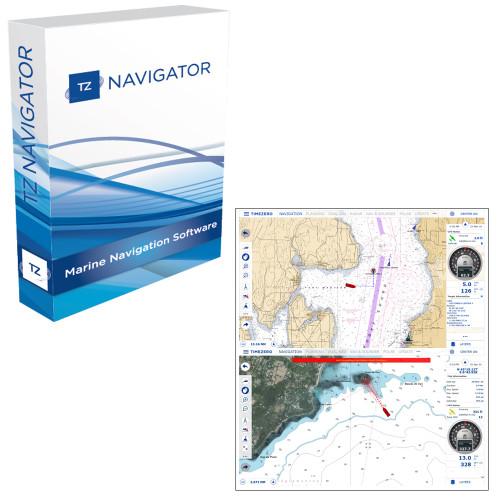 Nobeltec TZ Navigator Software - Digital Download