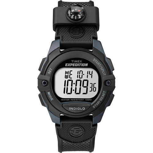 Timex Expedition Chrono\/Alarm\/Timer Watch - Black