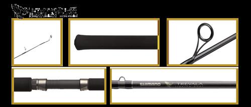 Shimano Trevala S Jigging Spinning Rod TVSS63ML