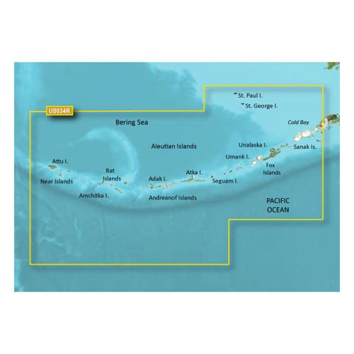 Garmin BlueChart g2 Vision - VUS034R - Aleutian Islands - microSD\/SD