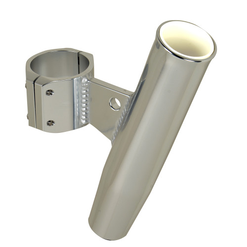 """C.E. Smith Aluminum Clamp-On Rod Holder - Vertical - 2.375"""" OD - Fits 2"""" Pipe"""