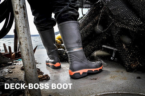 47677f0392f Grundens DECK-BOSS Boot Size 7 Old Style Discontinued