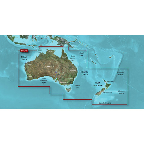 Garmin BlueChart g2 - HXPC024R - Australia & New Zealand - microSD\/SD