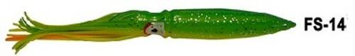 "Abaco Killa Squid 9"" 10-Pack ABA-FS-14"